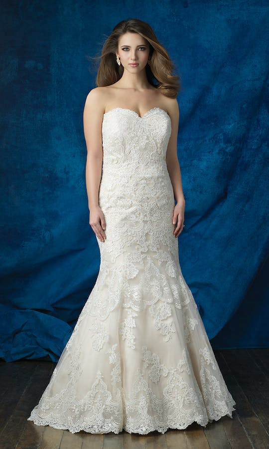 Allure Bridals 2017 Women W383