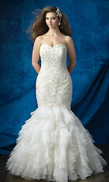 Allure Bridals 2017 Women W385 #5