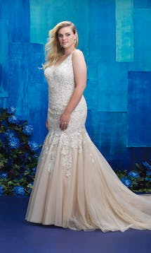 Allure Bridals 2017 Women W390 #10