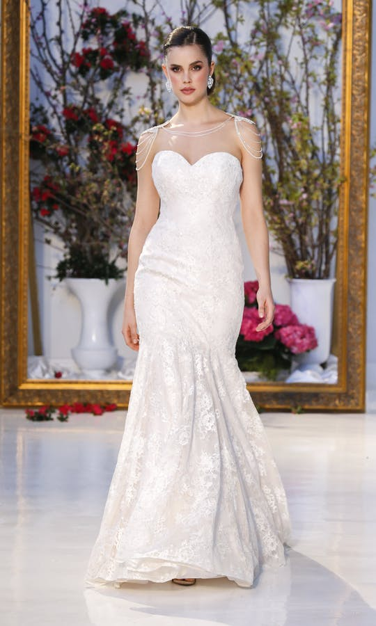 Anne Barge Blue Willow Bride Sweet Pea