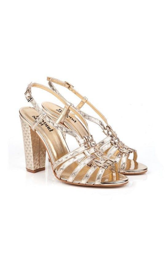 Beyond Skin Bridal Collection Geogold Candice Sandals