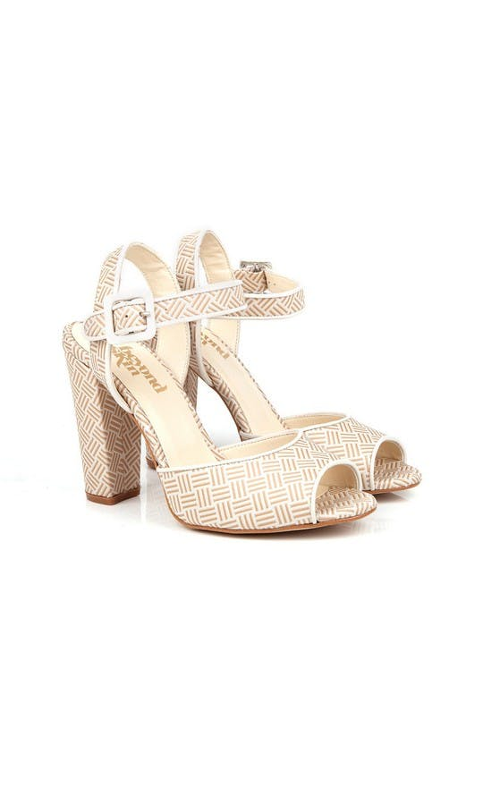 Beyond Skin Bridal Collection Cream Charlotte Sandals