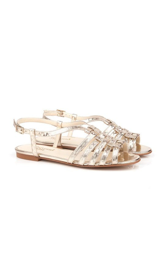 Beyond Skin Bridal Collection Cornelia Geogold Sandals