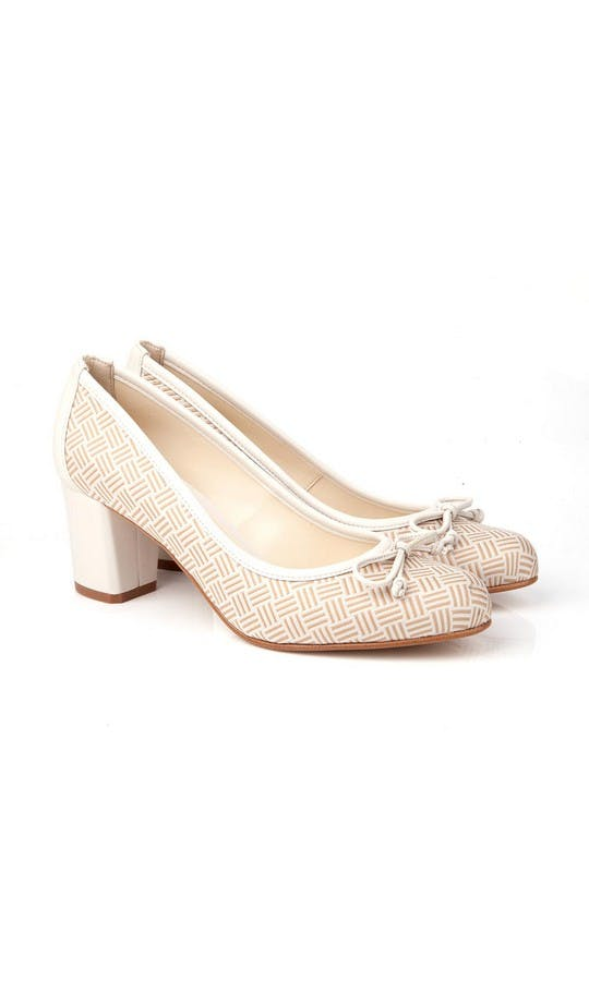 Beyond Skin Bridal Collection Doris Cream Heels