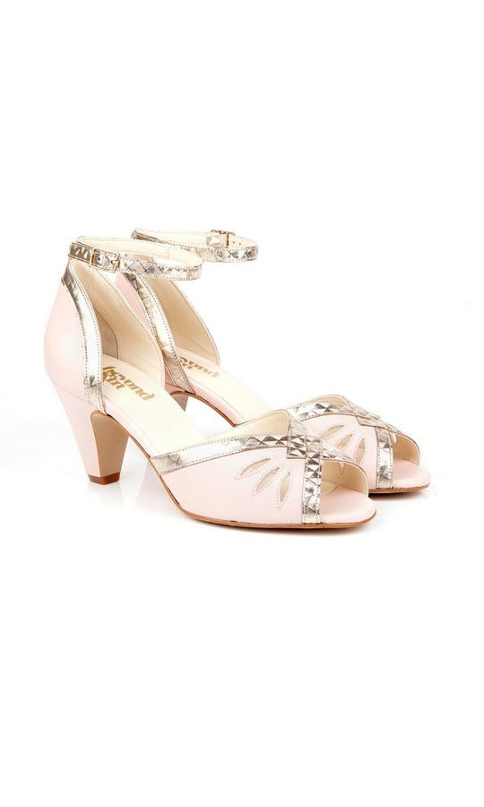Beyond Skin Bridal Collection Pink Leah Sandals