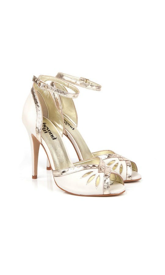 Beyond Skin Bridal Collection Cream Patti B Heels