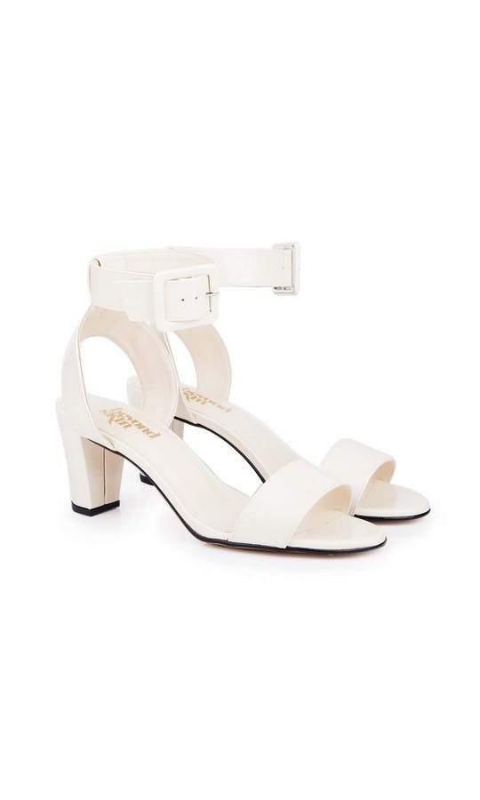 Beyond Skin Bridal Collection Colette Cream Sandals