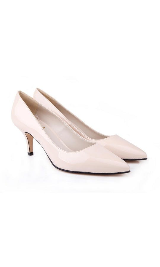 Beyond Skin Bridal Collection Isabella Cream Mid Court Shoes
