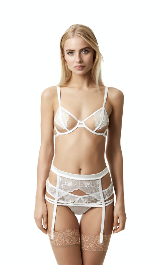 Bluebella 2017 Bridal Collection Emerson Suspender Belt