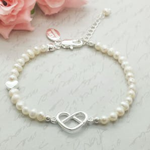 Life Charms The Wedding Collection Thank You For Helping Us Bracelet