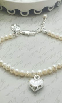 Life Charms The Wedding Collection Will you be my Bridesmaid Pearl Bracelet #2