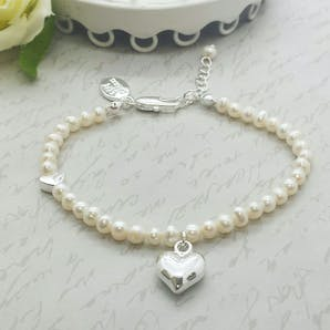 Life Charms The Wedding Collection Will you be my Bridesmaid Pearl Bracelet