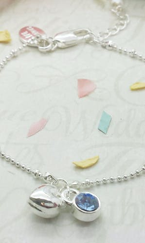 Life Charms The Wedding Collection Something Blue Bracelet
