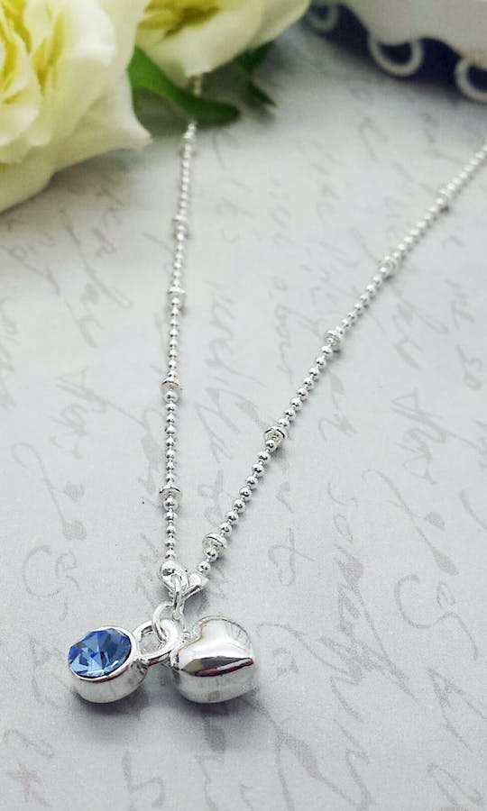 Life Charms The Wedding Collection Something Blue Necklace