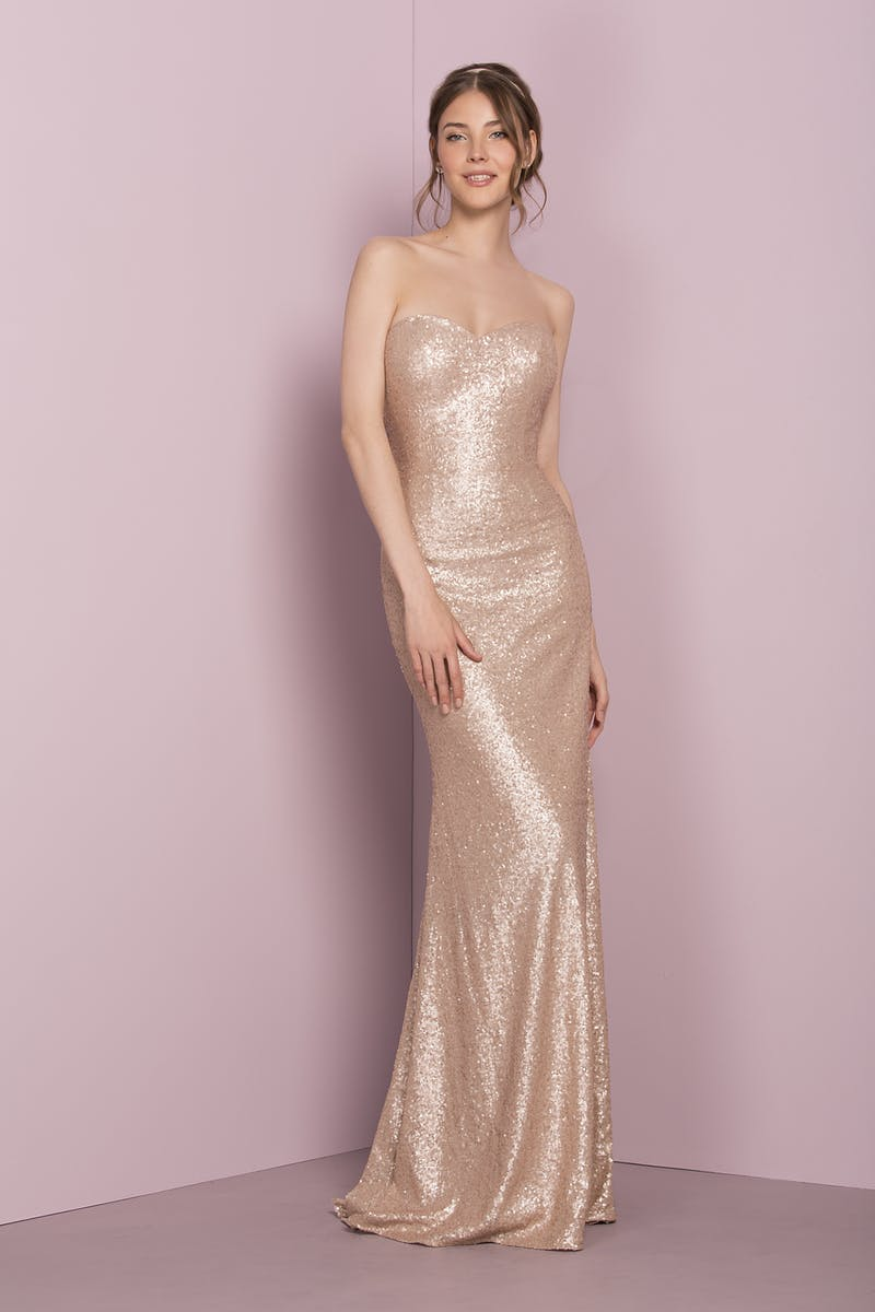 42c71c39b1f Rose Gold Sequin Bridesmaid Dress Uk - Gomes Weine AG
