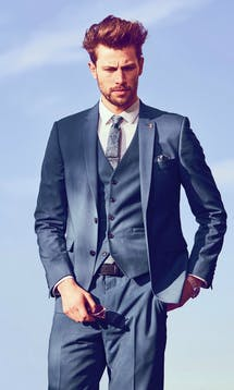 Burton Smart Occasion Three Piece Suit #21