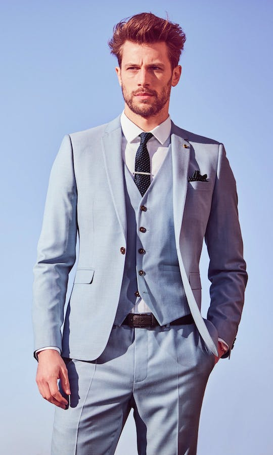 Burton Smart Occasion 3 Piece Formal Suit