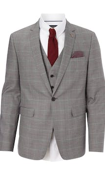 Burton Smart Occasion Check Suit Jacket #14