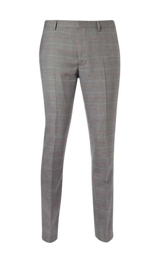 Burton Smart Occasion Checked Suit Trousers
