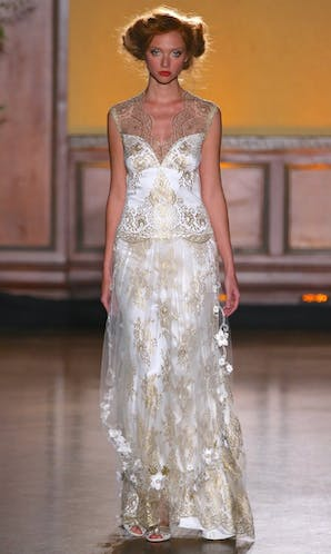 Claire Pettibone The Gilded Age Asscher Gown