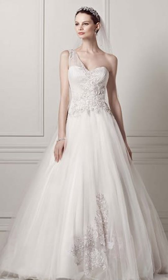 David's Bridal Wedding Dresses CKP421