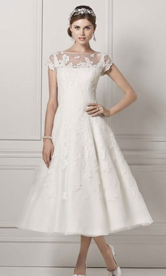 David's Bridal Wedding Dresses CMK513