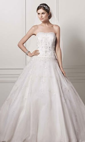 David's Bridal Wedding Dresses CT258