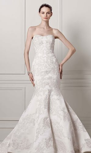David's Bridal Wedding Dresses CWG594