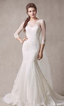 David's Bridal 2015 Melissa Sweet MS251089 #8