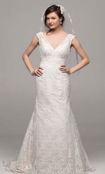David's Bridal Hall of Fame 2015 T9612 #6