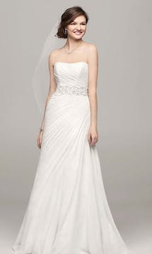 David's Bridal Hall of Fame 2015 V3540 #10