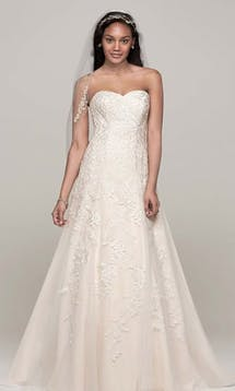 David's Bridal Hall of Fame 2015 V3587 #11