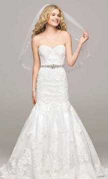 David's Bridal Hall of Fame 2015 V3680 #15