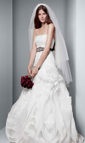 David's Bridal Hall of Fame Vera Wang VW351011