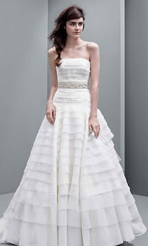 David's Bridal Hall of Fame Vera Wang VW351221 #6