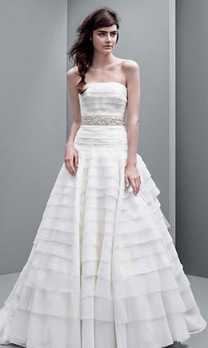 David's Bridal Hall of Fame Vera Wang VW351221