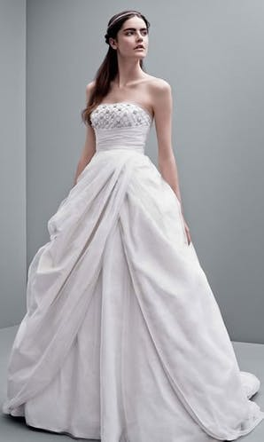 David's Bridal Hall of Fame Vera Wang VW351237