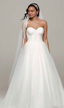 David's Bridal Hall of Fame 2015 WG3633 #23