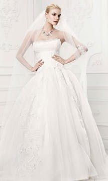 David's Bridal Hall of Fame Truly Zac Posen ZP341400 #1