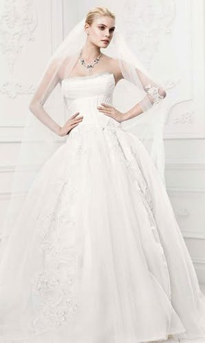 David's Bridal Hall of Fame Truly Zac Posen ZP341400