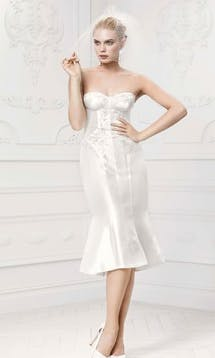 David's Bridal Hall of Fame Truly Zac Posen ZP341407 #2