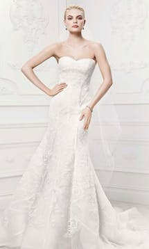 David's Bridal Hall of Fame Truly Zac Posen ZP341419 #4