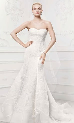 David's Bridal Hall of Fame Truly Zac Posen ZP341419