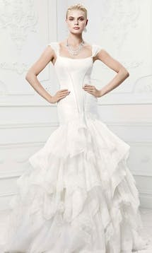 David's Bridal Hall of Fame Truly Zac Posen ZP345002 #5
