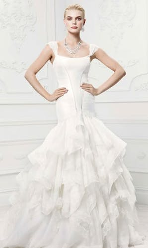 David's Bridal Hall of Fame Truly Zac Posen ZP345002