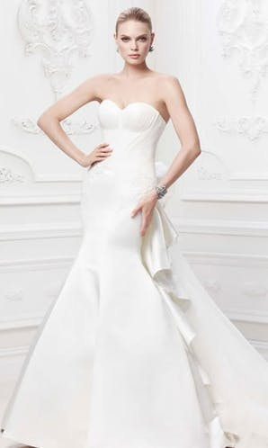 David's Bridal Hall of Fame Truly Zac Posen ZP345004