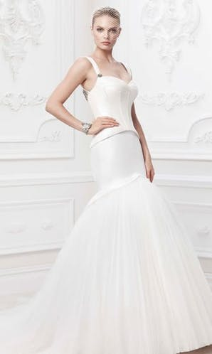 David's Bridal Hall of Fame Truly Zac Posen ZP345006