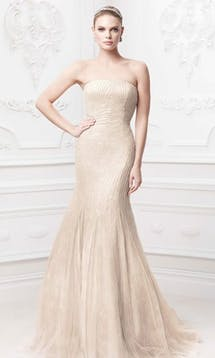David's Bridal Hall of Fame Truly Zac Posen ZP345017 #8