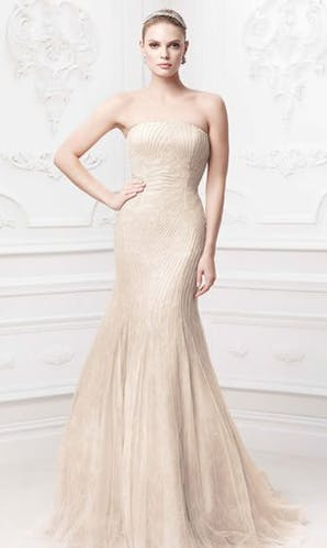 David's Bridal Hall of Fame Truly Zac Posen ZP345017