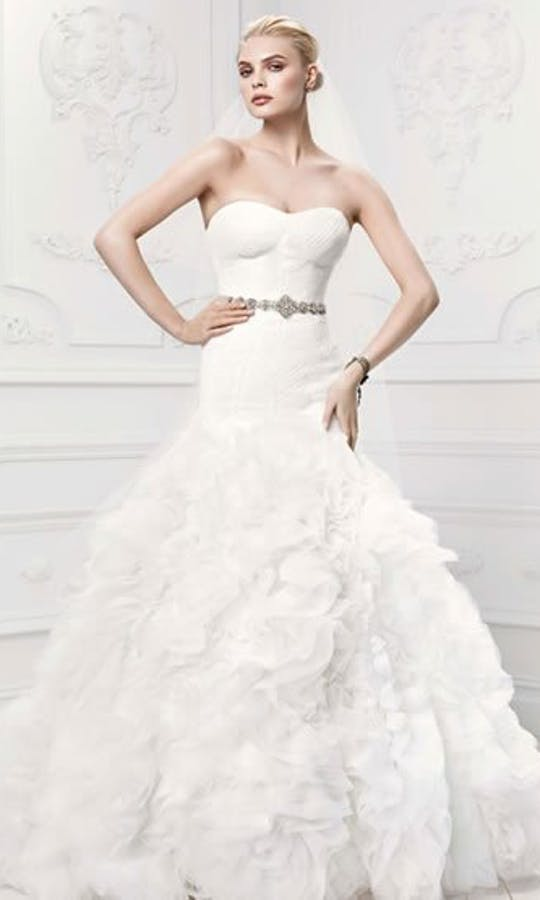 David's Bridal Hall of Fame Truly Zac Posen ZP345021
